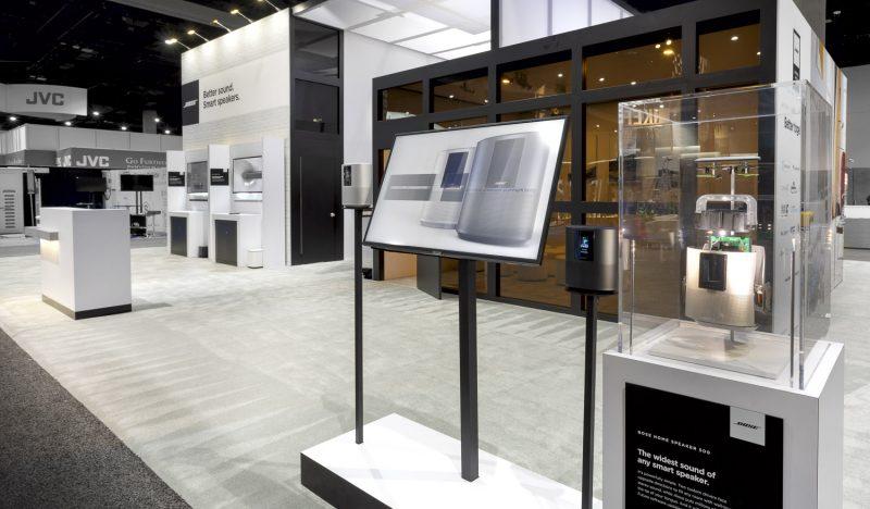 CEDIA tradeshow display